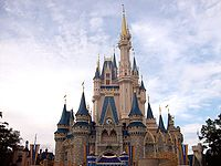 Cindyrella's Castle @ Magic Kingdom