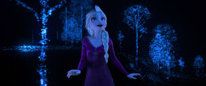Frozen II - Elsa Into the Unknown