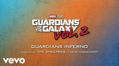 "Guardians Inferno (feat. David Hasselhoff) (From ""Guardians of the Galaxy Vol. 2"" Audio..."