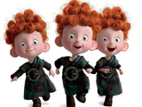 Harris, Hubert y Hamish