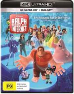 Ralph Breaks the Internet 2019 AUS 4K Ultra HD + Blu Ray