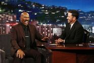 Steve Harvey visits JKL