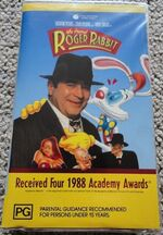 Who Framed Roger Rabbit 1989 AUS VHS