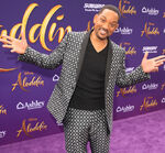 Will Smith Aladdin 2019 premiere