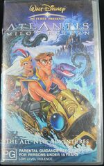 Atlantis- Milo's Return 2003 AUS VHS