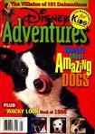 Disney adventures january 1997 cover amazing dogs