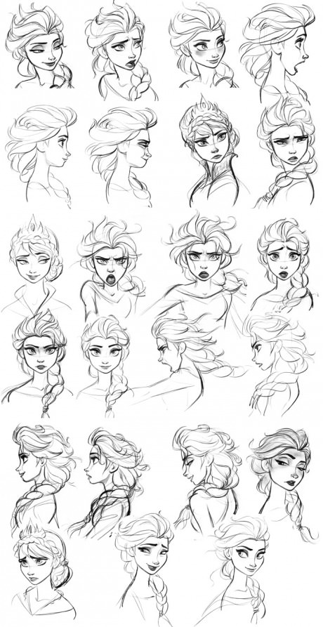 Image Elsa Expression Concept Disney Wiki