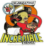 Incredibles pin