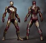 Iron Man IM3 Concept Art 1