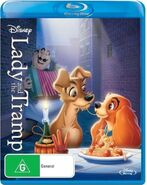 Lady and the Tramp 2014 AUS Blu Ray