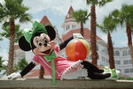Minnie at Grand Floridian