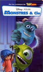 Monsters Inc 2002 France VHS