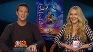 Scott Weinger & Linda Larkin discussing Aladdin Blu-ray
