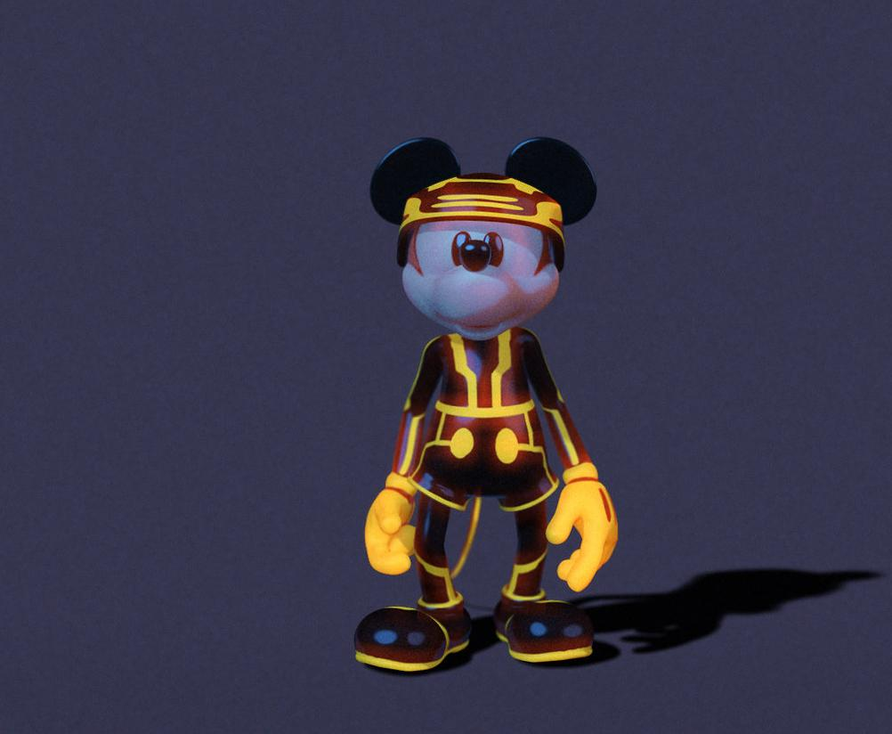 Tron costume Mickey Mouse.jpg  sc 1 st  Disney Wiki - Fandom & Image - Tron costume Mickey Mouse.jpg | Disney Wiki | FANDOM powered ...