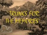 Trunks for the Memories