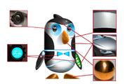 Bowtie the Robo-Penguin cocnept