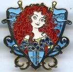 DLP - Princess Jeweled Crest - Merida