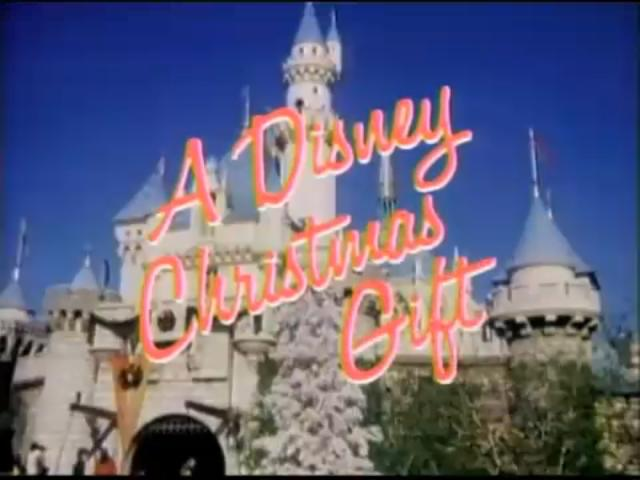 a disney christmas gift - A Walt Disney Christmas Dvd