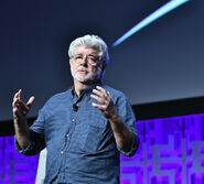 George Lucas at Star Wars 40th Anniversary