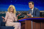 Judith Light visits Stephen Colbert
