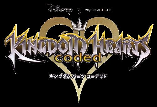 File:Kingdom Hearts coded Logo KHC.png