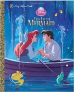 Little mermaid big golden book