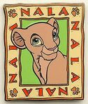 Nala Square Pin