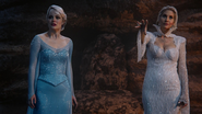 Once Upon a Time - 4x03 - Rocky Road - Elsa and Ingrid