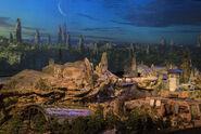 Star Wars Land D23 2017 Model 02