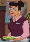 Stern Woman