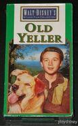Walt Disney Studio Film Collection - Old Yeller VHS - (Front)
