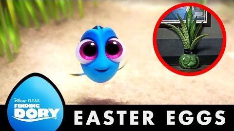 10 Easter Eggs Disney•Pixar Finding Dory