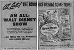 1952 disney show