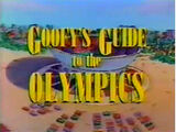 Goofy's Guide to the Olympics