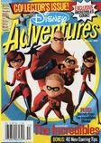 Disney Adventures Magazine cover November 2004 The Incredibles