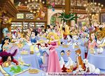 King Disney Tearoom Puzzle (Disney characters)