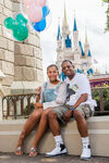 Martin Lawrence & daughter Amara Disney World
