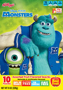 Monsters University fruit snacks