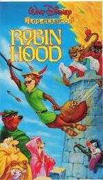 Robin Hood VHS México