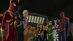 Spider-Man introduces his new warriors to his team USMWW