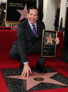 Steve Guttenberg Walk of Fame ceremony