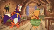 SuperTigger and Honeypot Pooh Bear