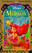The little mermaid masterpiece vhs