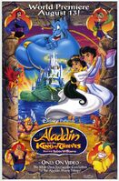 Aladdin and the king of thieves movie poster