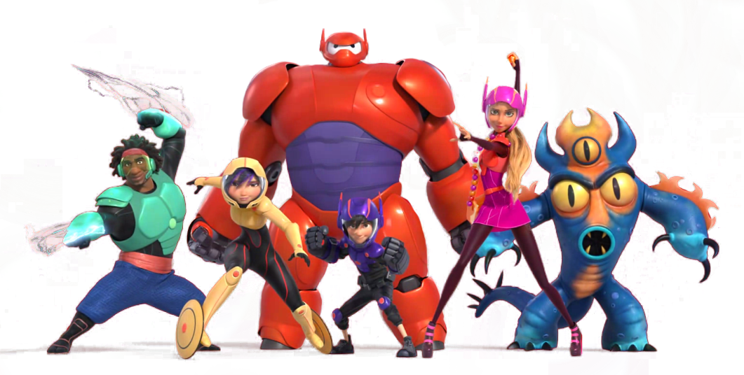 Big Hero 6 Cartoon Characters Names : Big hero disney wiki fandom powered by wikia