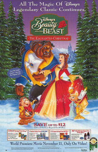Beauty And The Beast Christmas.Beauty And The Beast The Enchanted Christmas Disney Wiki