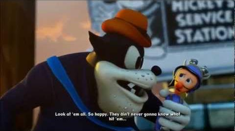 Epic Mickey 2 The Power of Two Final Cutscene Sequel Hook to Epic Mickey 3