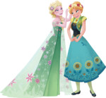 Frozen Fever - Anna and Elsa 1