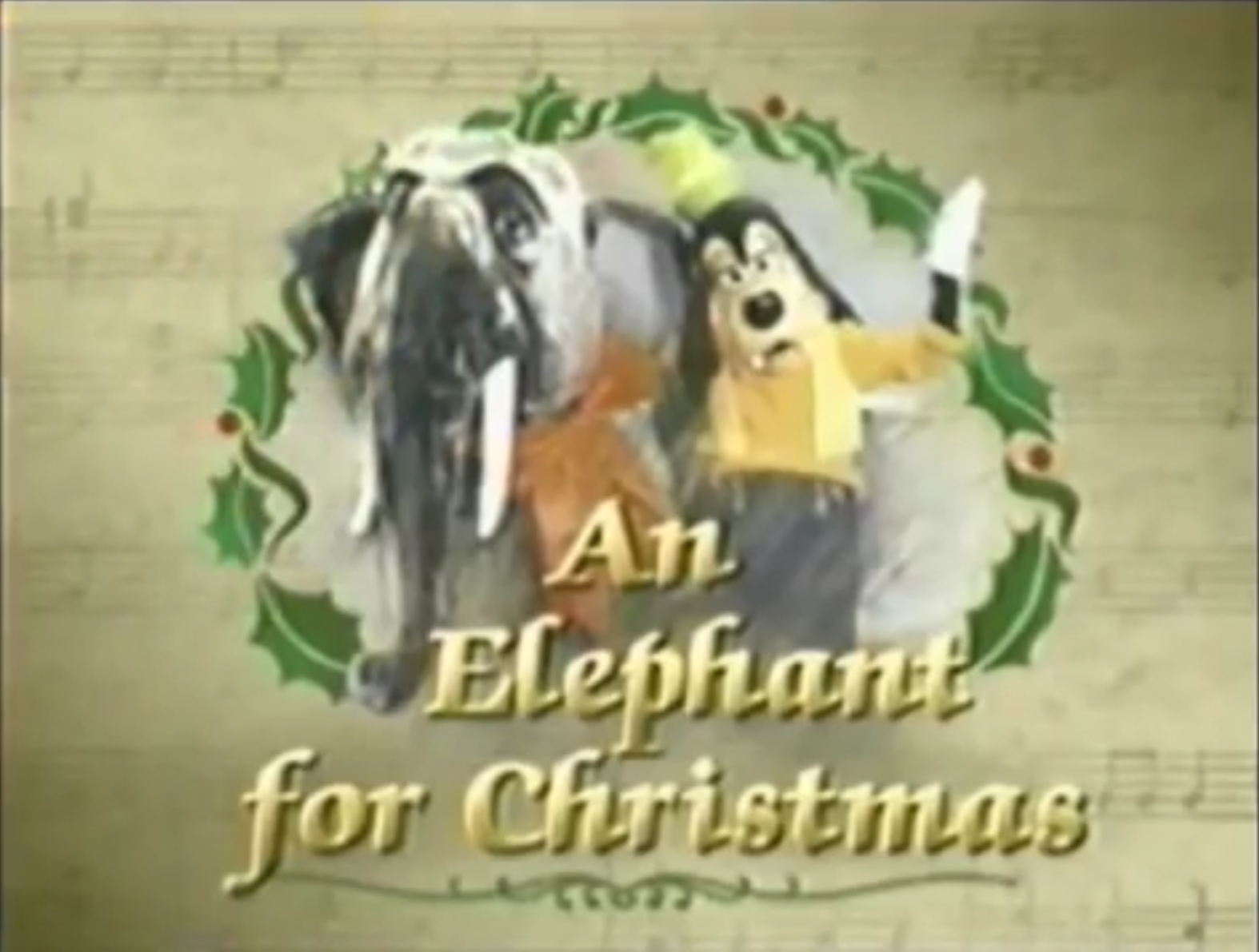 id like to have an elephant for christmas - Mickey Mouse Christmas Songs