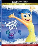 Inside Out 4KUHD Blu-ray